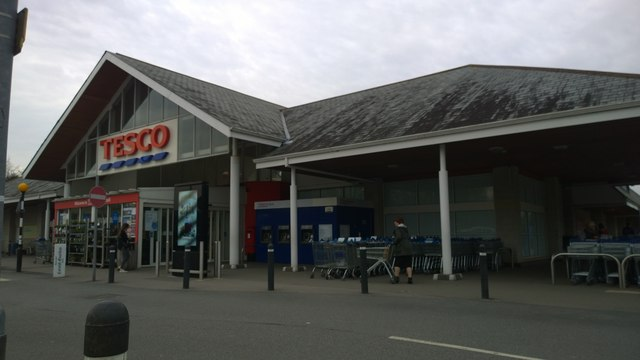 Tesco St Austell Daniels Lane Superstore