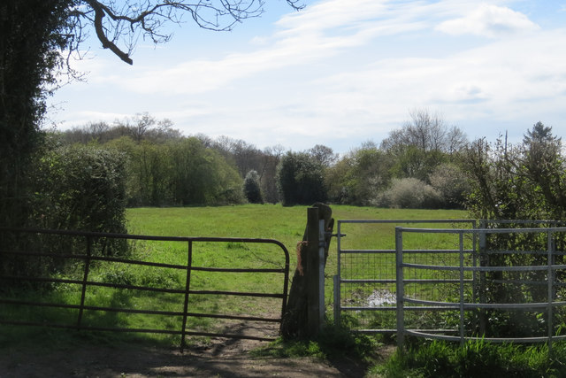 Kissing Gate on Footpath near Hastoe House