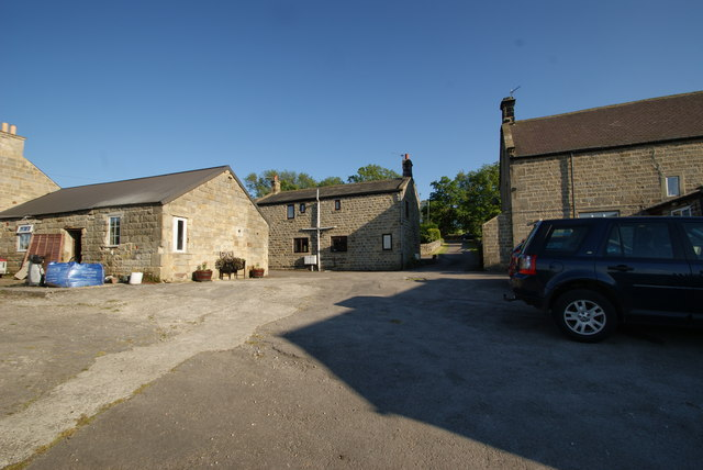 Rear of Southfield Farm and cottages