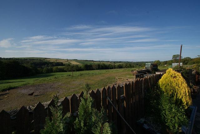 Looking East along Nidderdale from Southfield Farm