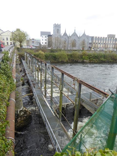 Former Eel Fishery on the River Corrib