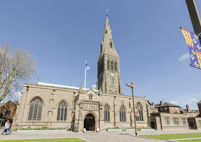 Leicester Cathedral 169 Julian P Guffogg Geograph Britain