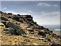 SD9716 : Blackstone Edge Escarpment by David Dixon