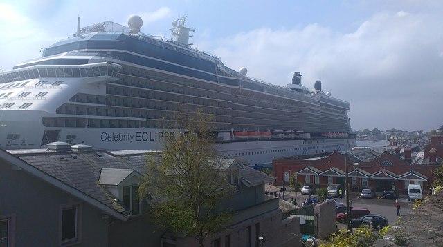 Cobh cruise liner terminal