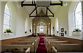 TF0783 : Interior, St Peter's church, Friesthorpe by Julian P Guffogg