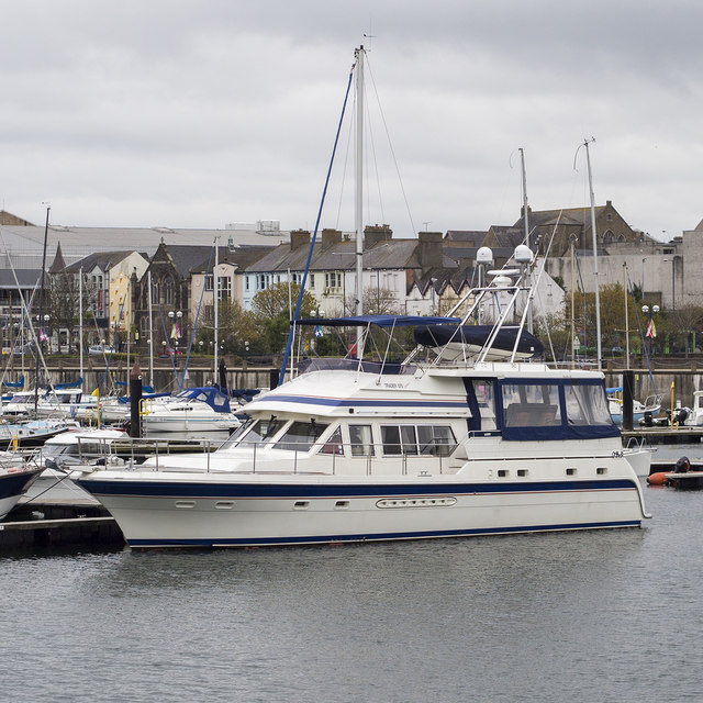 Motor Yacht 39 Jacana 39 At Bangor Rossographer Geograph