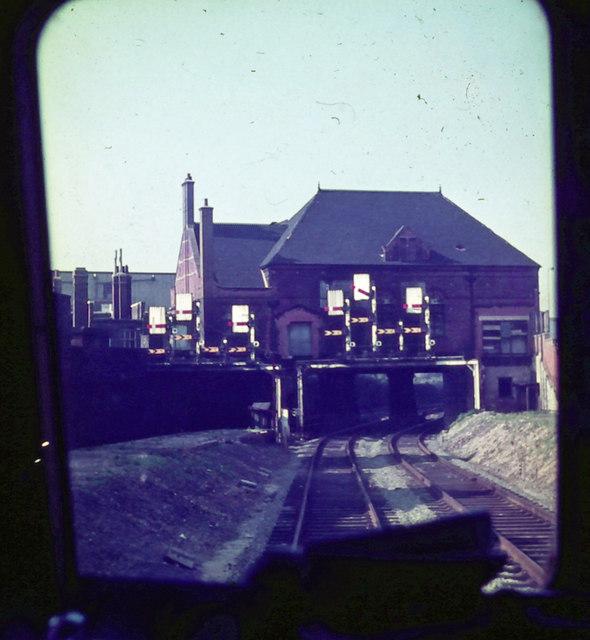 Former Stratford Market station in 1965