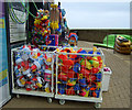 TA0389 : Beach goods for sale, North Bay, Scarborough : Week 19