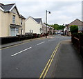 SN7810 : Station Road towards Club Lane, Ystradgynlais by Jaggery