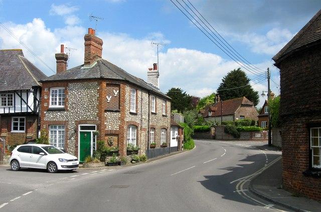 Windsor Cottage Horsham Road Steyning Simon Carey