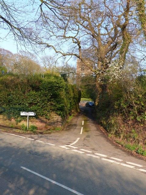 Road to St Bartholomew's