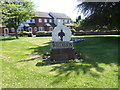 SJ3377 : Willaston Village Sign by Eirian Evans