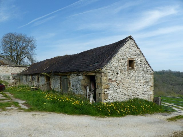 Farm buildings at Griffe Grange
