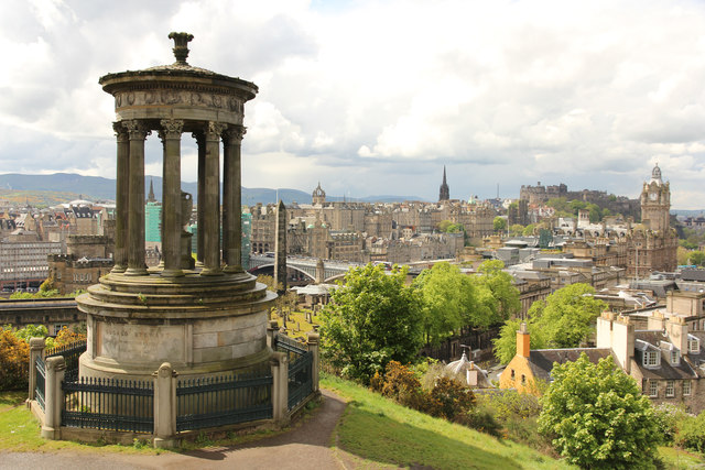 Dugald stewart monument calton hill richard croft for 13 regent terrace edinburgh