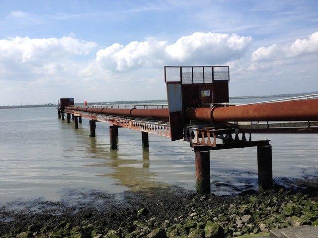 Cliffe Dredger Pier