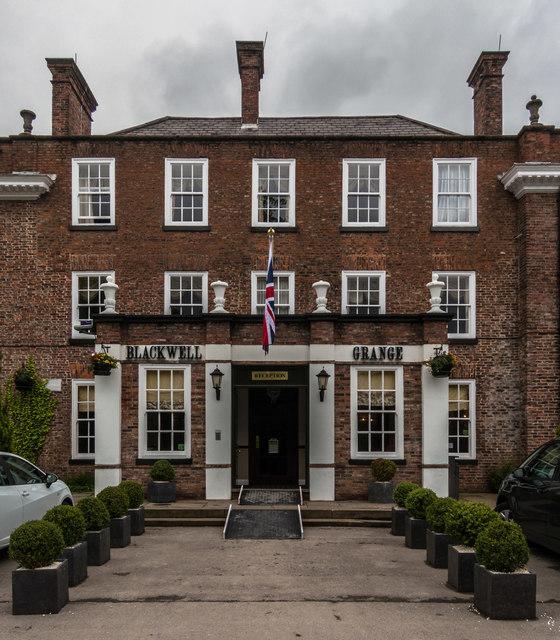 Blackwell Grange Hotel Darlington Telephone Number