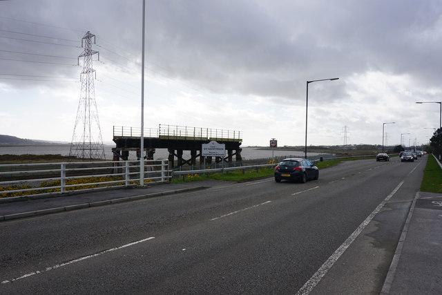 A484 road