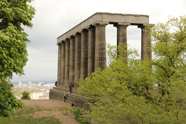 National monument of scotland richard croft cc by sa 2 0 for 13 regent terrace edinburgh