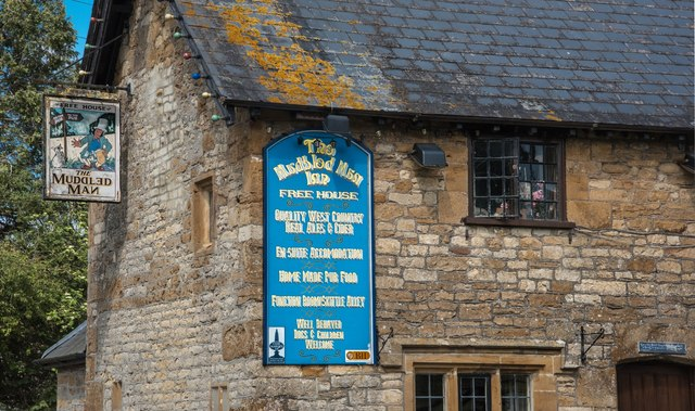 West Chinnock: The Muddled Man Pub