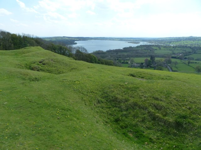 Former lead mines above Carsington village