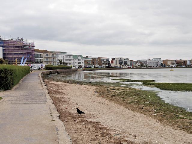 poole harbour banks road david dixon geograph britain and ireland. Black Bedroom Furniture Sets. Home Design Ideas
