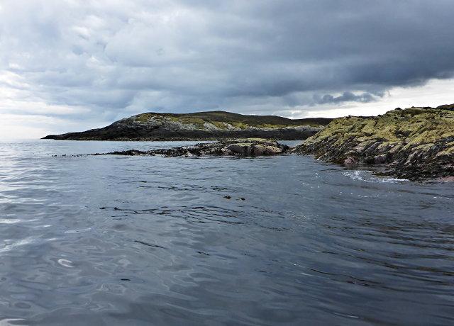 Rocks off Rubha Cam nan Gall