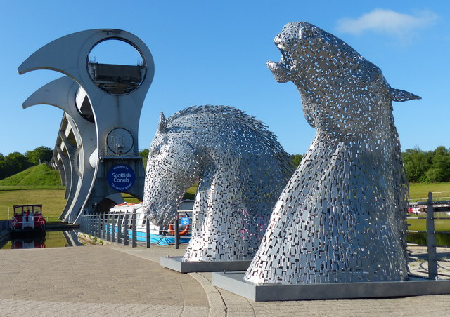 Kelpies Maquettes At The Falkirk Wheel 169 Mat Fascione
