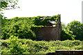 SK3612 : A derelict barn near Normanton-le-Heath by Oliver Mills