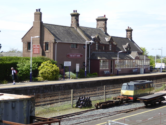 'The Ratty Arms', formerly Ravenglass Station