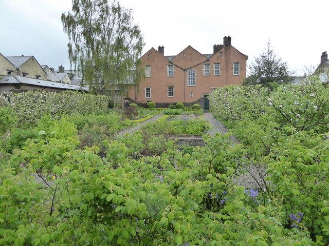 The back of Wordsworth's House across the garden