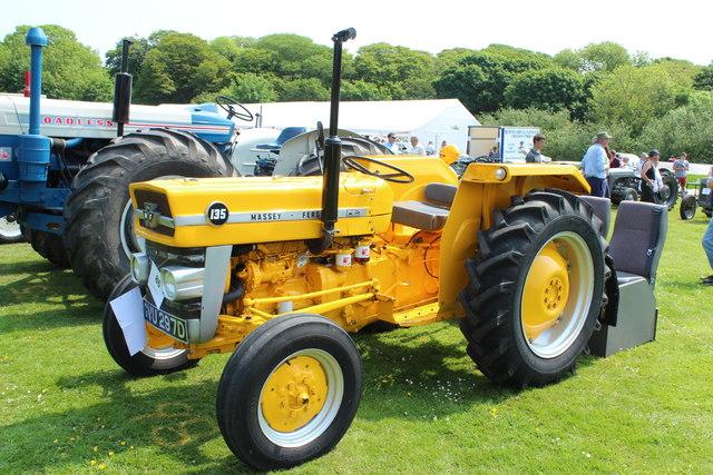 1966 Massey Ferguson Tractor : Massey ferguson  billy mccrorie geograph
