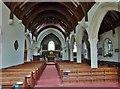 SW8238 : Interior of St. Feock's church, Feock, Cornwall by Derek Voller