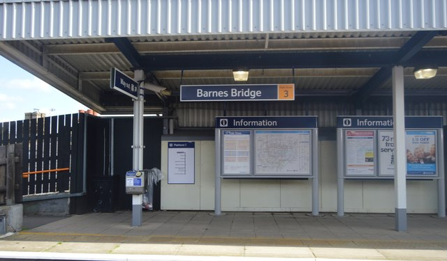Barnes Bridge Station © N Chadwick cc-by-sa/2.0 ...