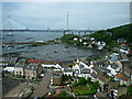 NT1380 : North Queensferry from the Forth Bridge by Thomas Nugent