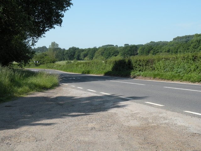 Part of the A1124 known as Halstead Road