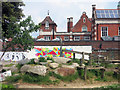 TQ2584 : Adventure Playground, Kilburn Grange Park by Des Blenkinsopp