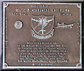TG2812 : 467th Bomb Group memorial plaque by Evelyn Simak