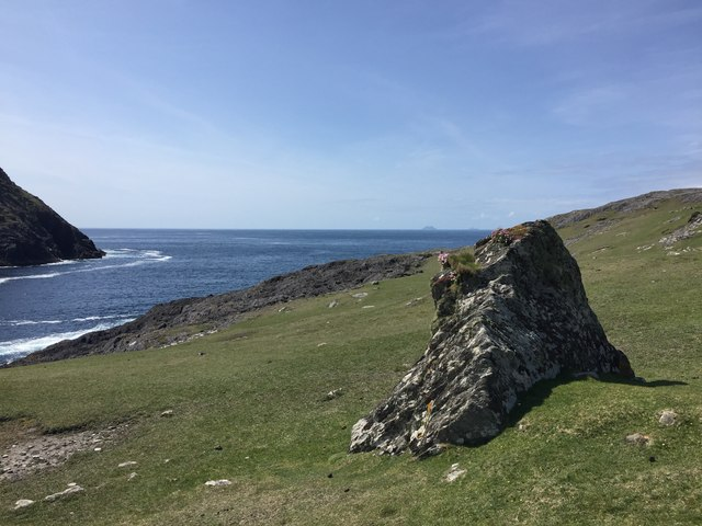 Isolated rock at Ballaghboy