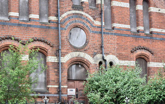 Former Methodist church, University Road, Belfast - June 2016(2)
