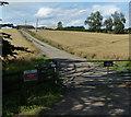 SP8519 : Entrance to Burston Ridge Farm by Mat Fascione