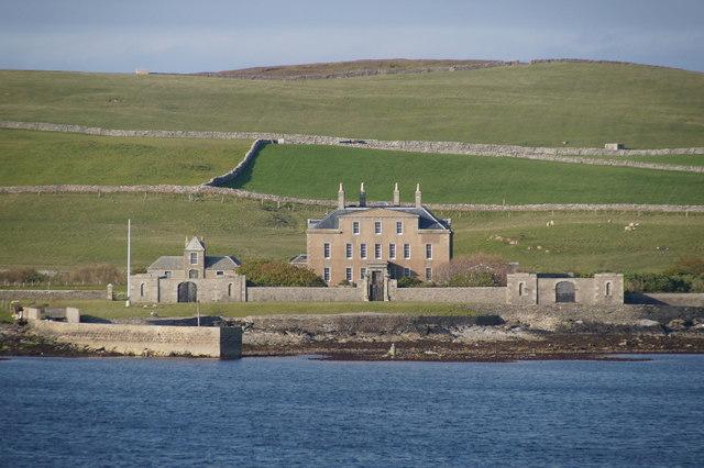 Gardie house bressay island