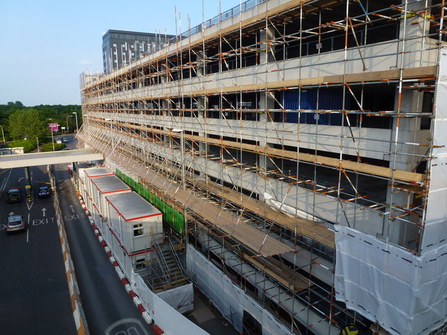 Gatwick Airport North Terminal Postcode >> Car park refurbishment at the North... © Richard Humphrey ...