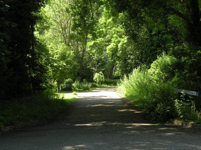 Part of Conduit Head Road