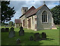 SP8322 : St Nicholas church in Cublington by Mat Fascione