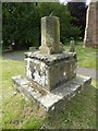 SJ8004 : Remains of a cross, Donington by Philip Halling