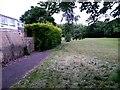 SZ0794 : Ensbury Park: footpath N27 runs out of tarmac by Chris Downer