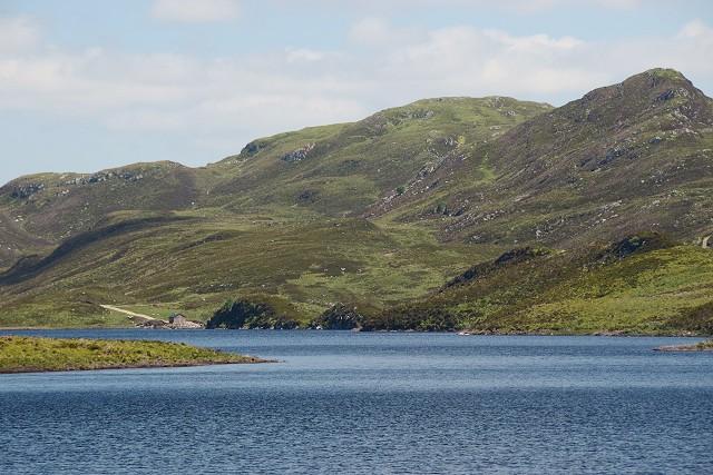 New boathouse on Loch Gainmheach
