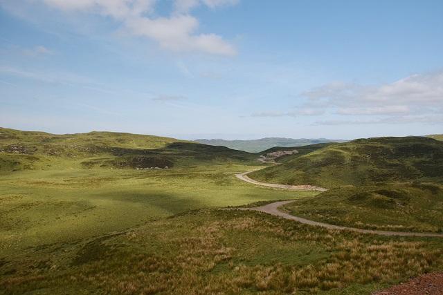 Moorland north of Bealach Ruadh