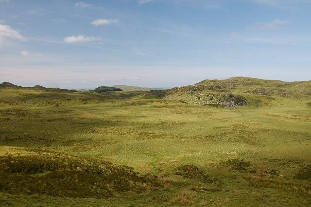 Moorland west of Bealach Ruadh