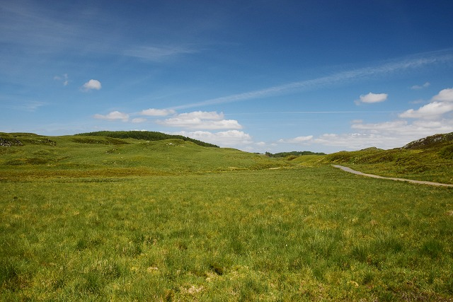 Moorland near the Finchairn River